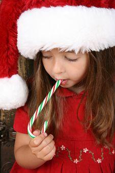 Free Christmas Girl Stock Images - 17043354