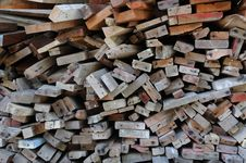 Free Pile Of Lumber Royalty Free Stock Photo - 17043395