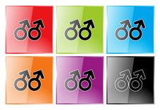 Free Gay Symbol Royalty Free Stock Image - 17043426