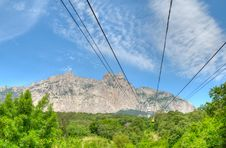Free Cableway To Ai-Petri Mountain Stock Photography - 17043692