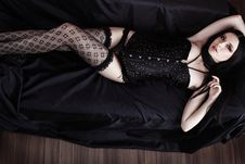 Free Vamp Woman Stock Photography - 17043822