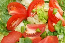 Free Salad Fixings Royalty Free Stock Photography - 17043847