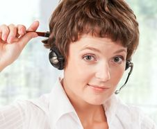 Free Support Phone Operator Royalty Free Stock Image - 17043946