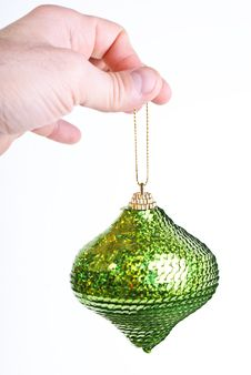 Free Green Christmas Ball Stock Photos - 17044043