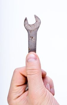 Free Tool In Hand Stock Photo - 17044100