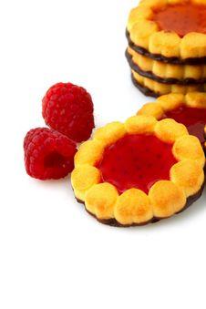 Free Jam Cookies Stock Photography - 17045542