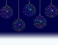 Free Christmas Balls Royalty Free Stock Photos - 17045938