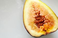 Free Fig Fruit Cut In Half Royalty Free Stock Image - 17047026
