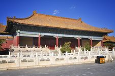 Free Beijing Forbidden City Royalty Free Stock Photography - 17047827