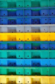 Free Stacked Crates Royalty Free Stock Photos - 17048138