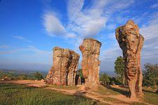 Free Thailand Stonehenge Royalty Free Stock Image - 17049596