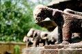 Free Craved Statue Of Hindu God In Kannauj India Royalty Free Stock Image - 17058356