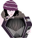 Free Busker - Accordion Stock Photo - 17059550