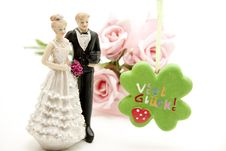 Free A Lot Of Luck For The Bridal Couple Stock Photos - 17050833