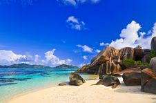 Free Beach Source D Argent At Seychelles Royalty Free Stock Photography - 17050877