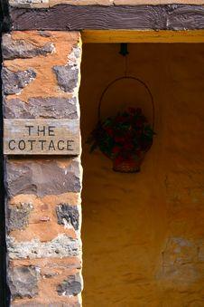 Free Doorway Of Cottage In Exmoor Royalty Free Stock Photo - 17051115