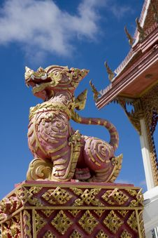 Dragon Statue Royalty Free Stock Images