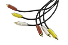 Free Rca Cables Stock Photo - 17052870