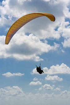 Tandem Paraglider Royalty Free Stock Photos