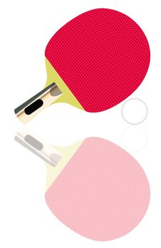 Free Ping-pong Set Stock Photography - 17053102