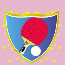 Ping-pong Banner Stock Images
