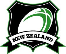 Free Rugby Ball New Zealand Stock Image - 17053281