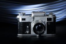 Old Camera Made In Russia Stock Image