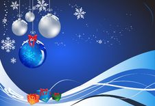 Free Christmas Baubles Royalty Free Stock Photos - 17053738