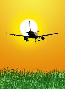 Free Plane Royalty Free Stock Image - 17053796