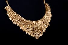 Free Close-up Of Gold Necklace Stock Photography - 17054072