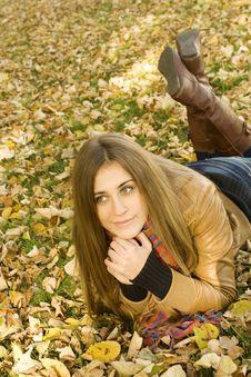 Free Autumn Portrait Stock Image - 17054381