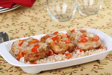 Free Pork Cutlet Meal Royalty Free Stock Photos - 17055058