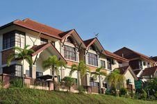 Free Luxury Residence Area Stock Photo - 17055070