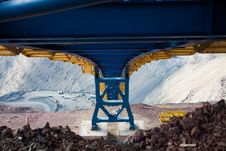 Free Construction Of The Ore Conveyor Stock Photography - 17055252