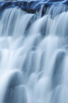Free Waterfall On Mountain River Royalty Free Stock Photos - 17055678
