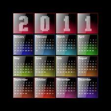 Free Calendar 2011 Stock Photo - 17055780