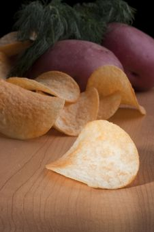 Free Potato Chips Stock Images - 17056654