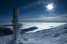 Free Winter Panorama Sunshine Stock Photo - 17056940