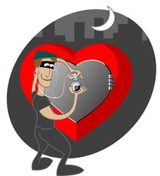 Free Thief Of Hearts Stock Photography - 17057122
