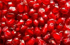 Free Pomegranate Seeds Royalty Free Stock Photography - 17057267