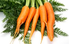 Free Fresh Carrots Stock Photography - 17058362