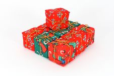 Free Gift Boxes Royalty Free Stock Image - 17058856