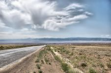 Free Desert Road Royalty Free Stock Images - 17058919