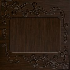 Free Vintage Photo Frame With Classy Patterns Stock Image - 17059571