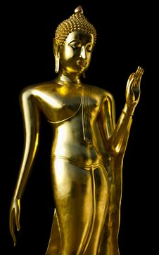 Free Golden Buddha Stock Image - 17059891