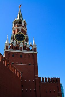 Free Spasskaya Tower Royalty Free Stock Image - 17059996