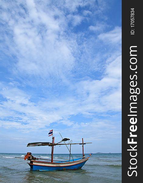 View of Thai sea