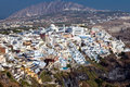 Free Panoramic View Of Fira, Santorini Royalty Free Stock Photography - 17065377