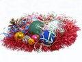 Free Colorful Christmas Balls.Isolated. Stock Image - 17065581