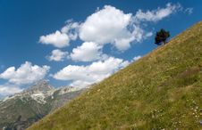 In Mountains Royalty Free Stock Photo